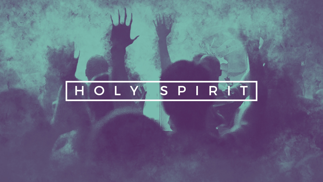 Holy Spirit with Hands